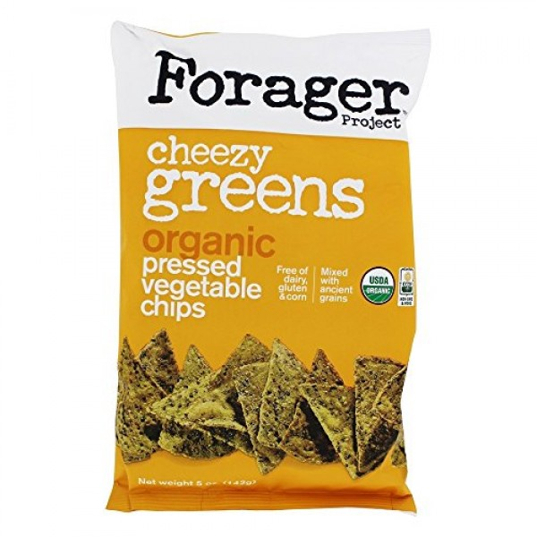 FORAGER PROJECT, VEG CHIPS, OG2, CHZY GREENS, Pack of 12, Size 5...