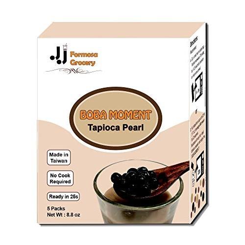 [Formosa Grocery] BOBA MOMENT 5 Packs Instant Tapioca Pearl / Bu...