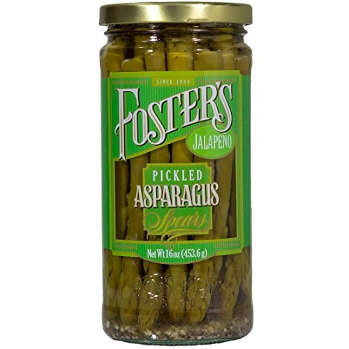Fosters Pickled Asparagus Jalapeno 16oz 3 Pack