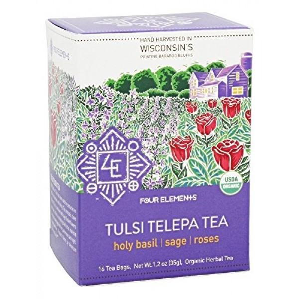 Tulsi Telepa Tea, USDA Certified Organic Herbal Tea, produced by...