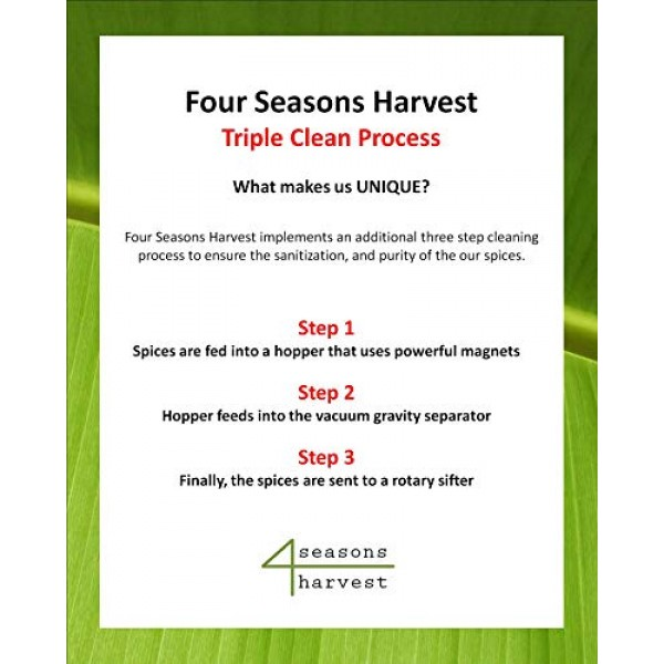 Four Seasons Harvest Caraway Seeds Whole Non-GMO & Kosher Certi...