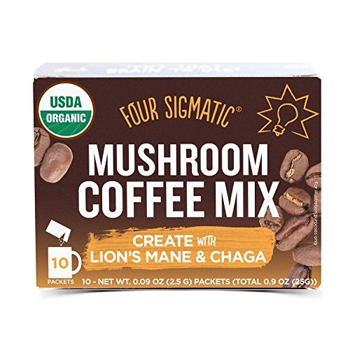 Four Sigmatic Mushroom Coffee Mix with Lions Mane and Chaga 2 P...
