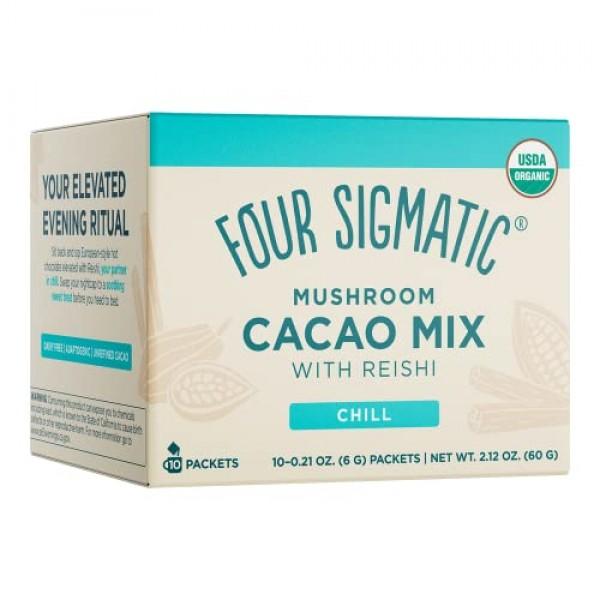 Four Sigmatic Mushroom Hot Cacao with Reishi - USDA Organic Reis...