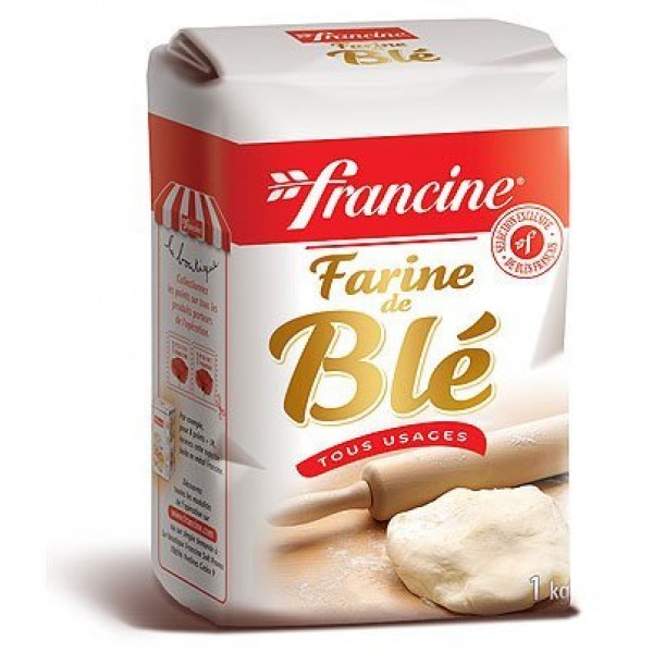 Francine Farine de Ble Tous Usages - French All Purpose Wheat Fl...