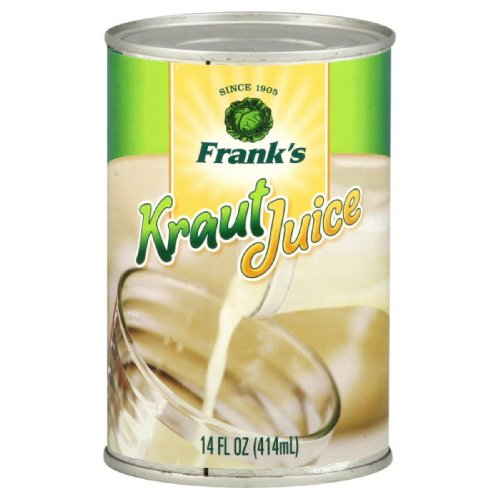 Franks Sauerkraut Juice 14 Ounce Pack of 6