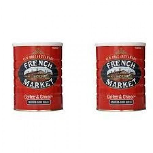 PACK OF 8 - French Market Medium-Dark Roast Ground Chicory & Cof...