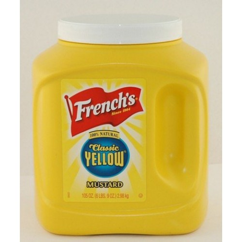Frenchs 105 Oz Classic Yellow Mustard 4/Case