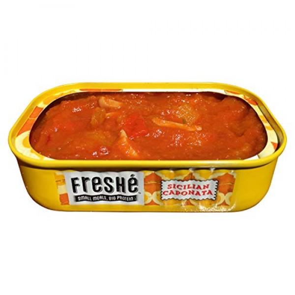 Freshé Gourmet Canned Tuna Sicilian Caponata, 10 pack of 4.25 o...