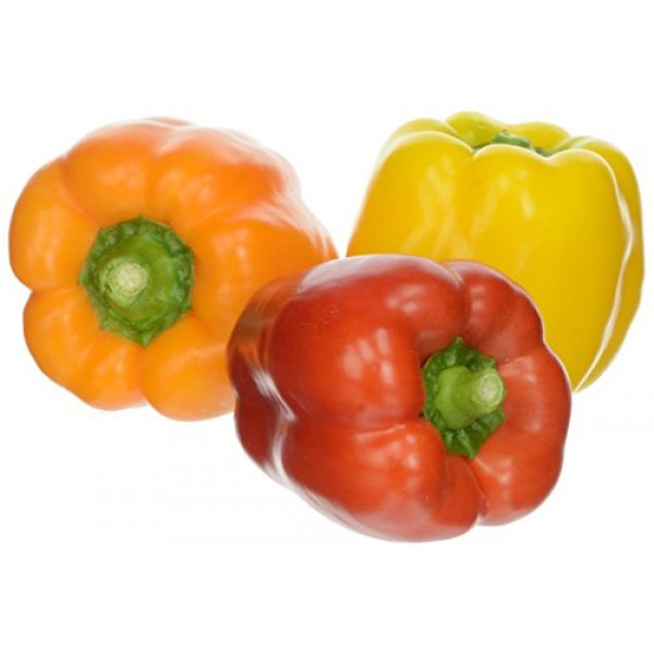 Fresh Produce Tri-Color Peppers, 14 ozus