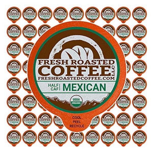 Fresh Roasted Coffee LLC, Swiss Water Half Caf Organic Mexican C...