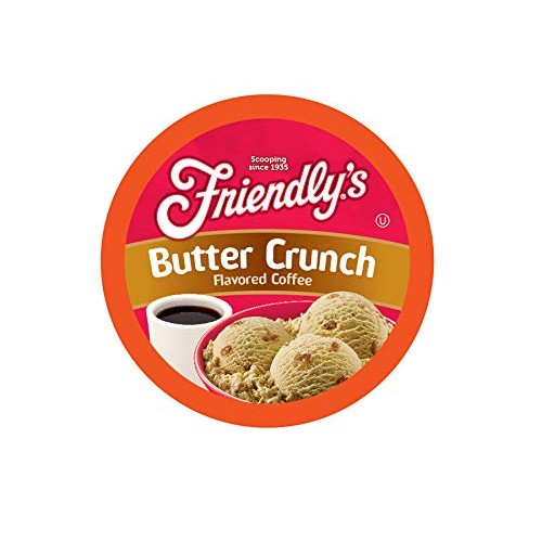 Friendlys Cream and Maple Flavored Coffee Pods for Keurig K Cup...