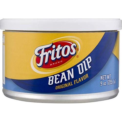 Fritos, Bean Dip, Original Flavor, 9oz Canister Pack of 3