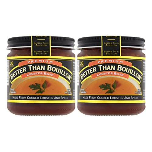 Better Than Bouillon Lobster Base broth 8.0 OZ Pack of 2