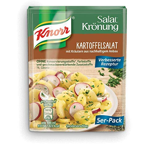 From Germany Knorr Seasoning Kronung Kartoffelsalat Potato Salad...