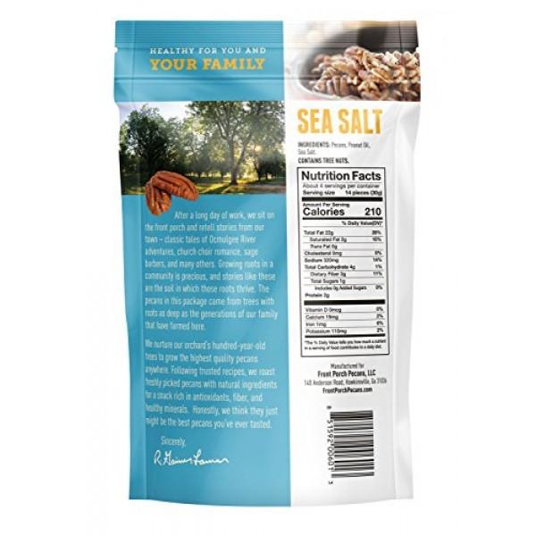 All Natural Roasted Pecans - Pack of 4 Sea Salt