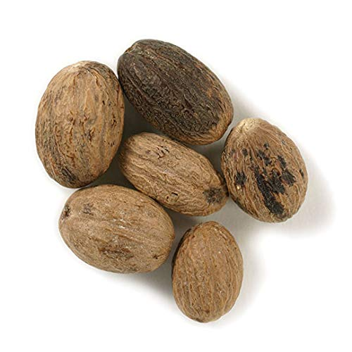 One 1lb Nutmeg whole Organic Frontier