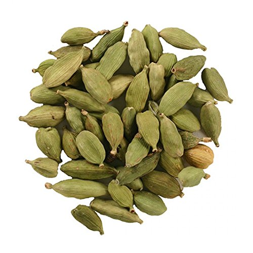 Frontier Co-op Cardamom Pods, Green Whole, 1 lb. Bulk Bag