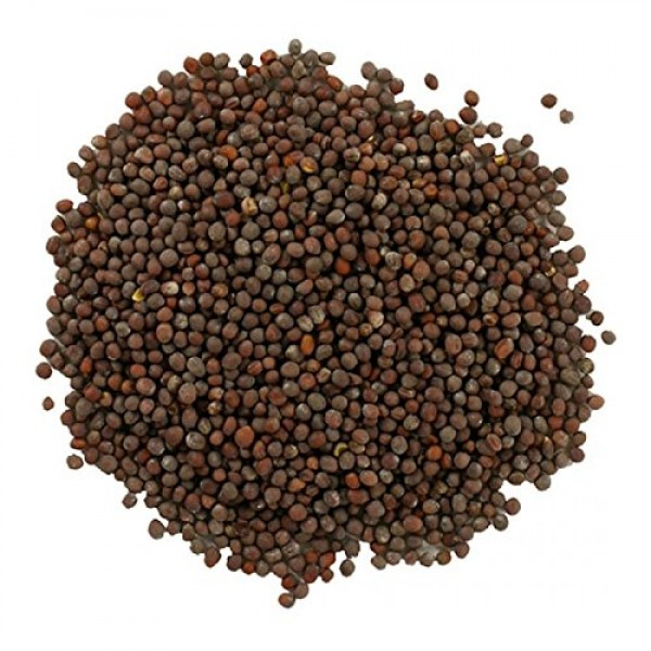 Frontier Co-op Brown Mustard Seed, Whole, Certified Organic, 1 l...