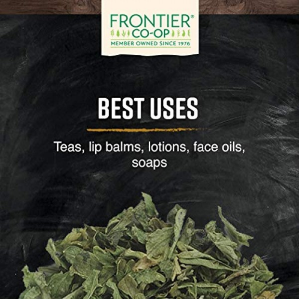 Frontier Co-op Raspberry, Red Leaf, Cut & Sifted, Certified Orga...