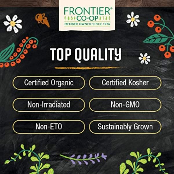 Frontier Co-op Spearmint Leaf, Cut & Sifted, Certified Organic, ...