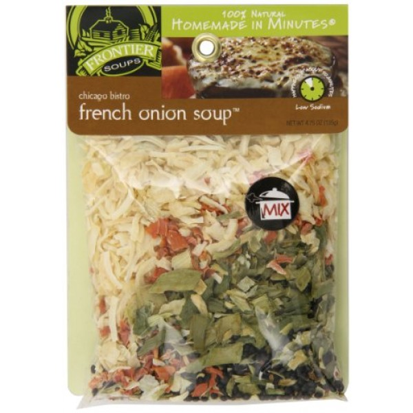 Frontier Soups Homemade In Minutes Soup Mix, Chicago Bistro Fren...