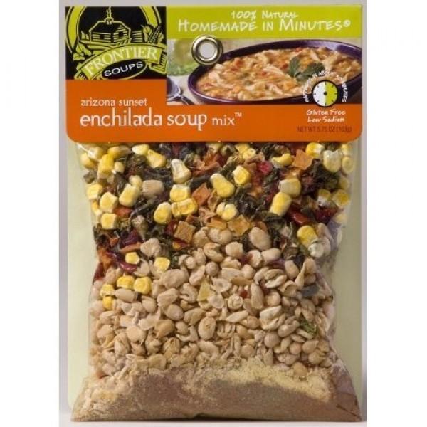 Frontier Soups Mix, Arizona Sunset Enchilada Soup, 5.75 oz Pack...