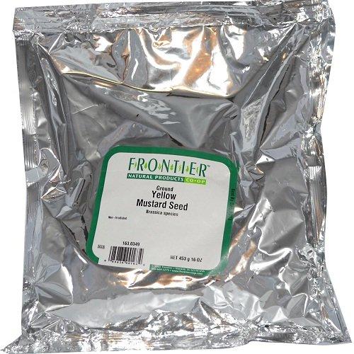 Frontier Co-op Mustard Seed, Yellow Mustard Powder, Certified Or...