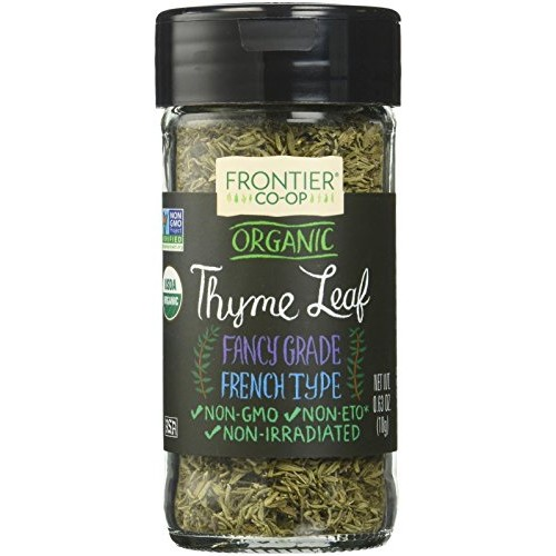 Frontier Organic Thyme Leaf Spice - Flakes - 0.8 Ounces