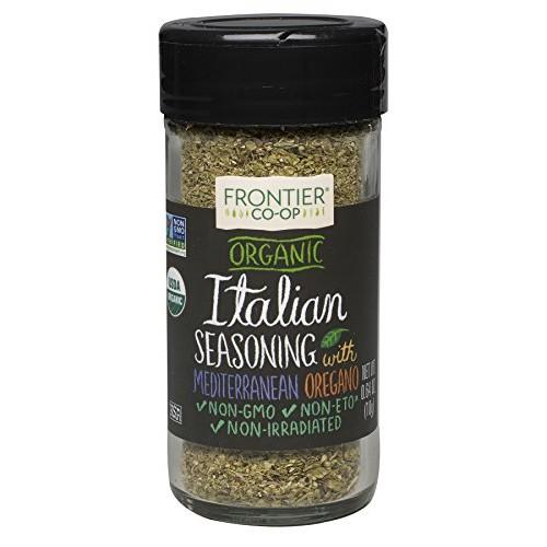 Frontier Italian Seasoning Certified Organic, 0.64-Ounce Bottle