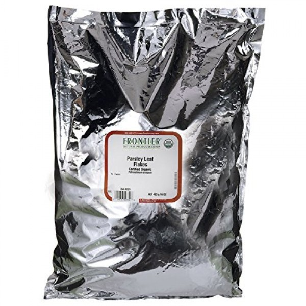 Frontier Natural Products Co-Op Parsley Leaf Flakes 16 oz 453 g...