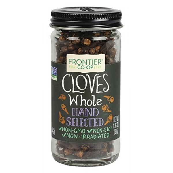 Frontier Natural Products Cloves, Whole, Select, 1.36-Ounce