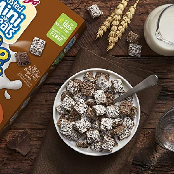 Kelloggs Frosted Mini-Wheats Little Bites, Breakfast Cereal, Ch...