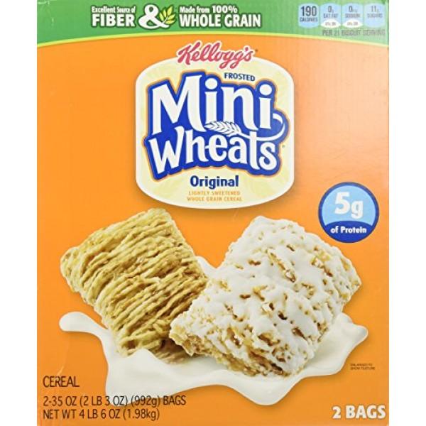 Kelloggs Frosted Whole Grain Mini Wheats, 70-Ounce