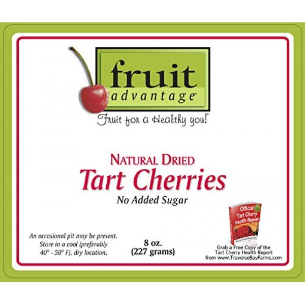 No Added Sugar Dried Cherries - Traverse Bay Farms / Fruit Advan...