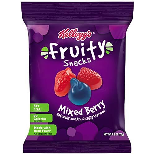 Kelloggs Fruity Snacks, Mixed Berry, Gluten Free, Fat Free, Bul...