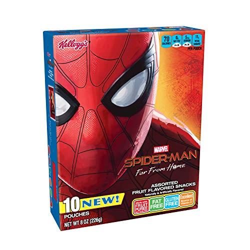 Spiderman, Fruit Flavored Snacks, Assorted Fruit Flavored, Glute...