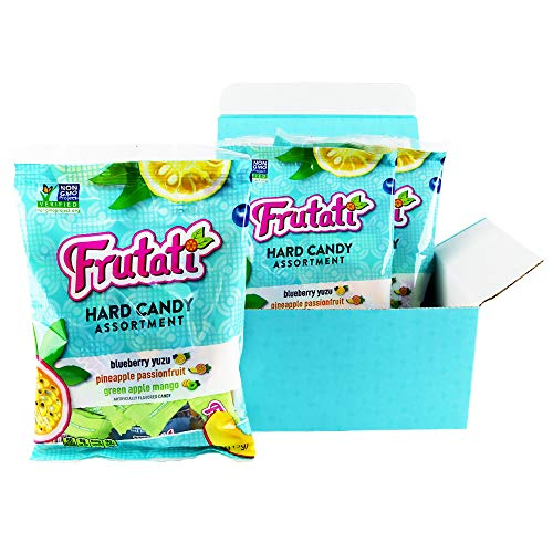 Frutati Hard Candy Variety Pack - Green Apple Mango, Pineapple P...