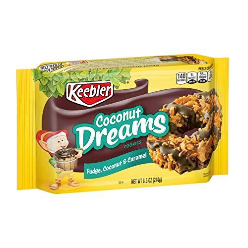 KeeblerFudge Stripes Cookies, Coconut Dreams, Flavors of Fudge,...