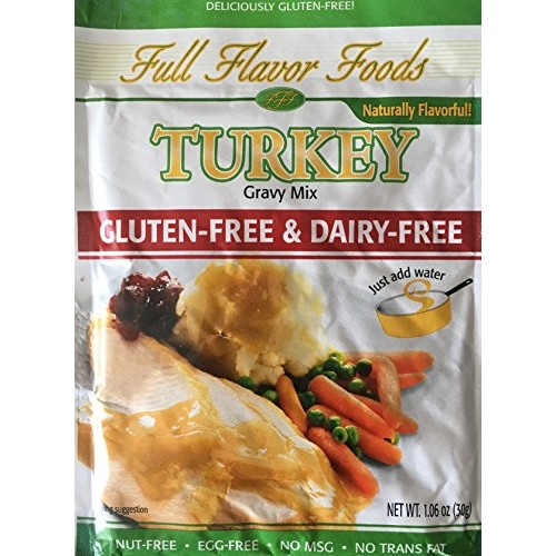 Gluten-Free & Dairy-Free Complete Turkey Gravy Mix, Pack of 3