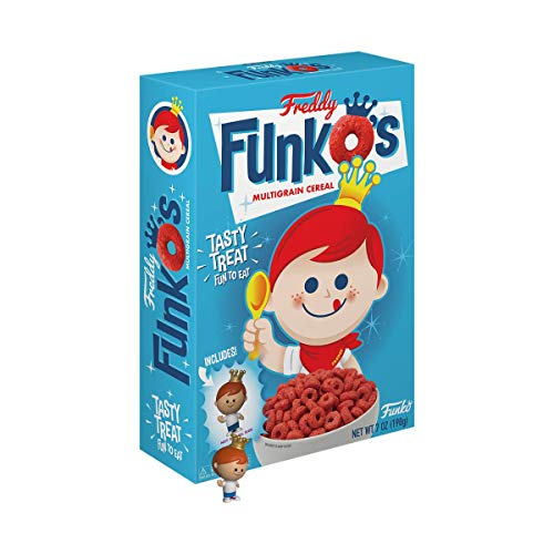 Funko Pop! Exclusive Retro Freddy FunkOs Cereal w/Pocket Pop