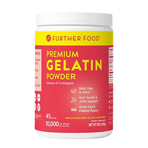 Further Food Premium Gelatin Powder | Grass-Fed, Pasture-Raised,...