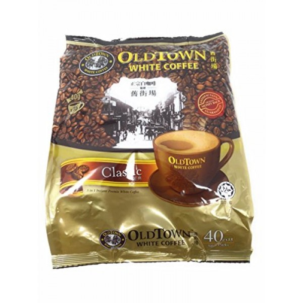 OLD TOWN 3 in 1 Classic White Coffee, 21.2 Ounce 2 Pack