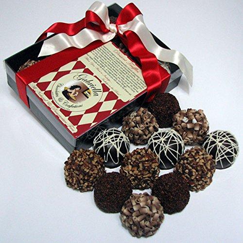 Chocolate Decadence Dessert Truffles 12-piece Gift Box 1.8lbs