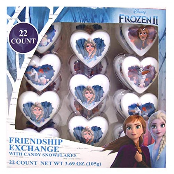 Frozen 2 Heart Shaped Prefilled Plastic Easter Eggs for Kids, 22...