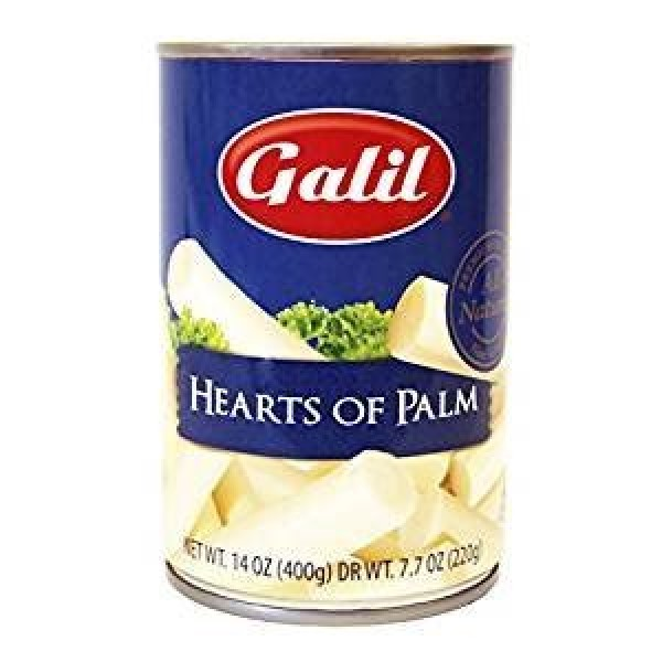 Galil Hearts Of Palm Non Gmo Kosher For Passover 7.7 Oz. Pack Of 6.