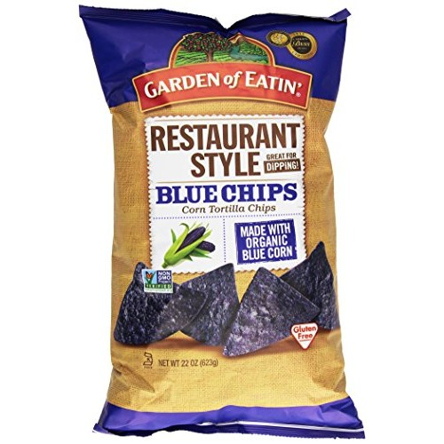 Garden of Eatin, Restaurant Style Blue Corn Tortilla Chips, 22 oz