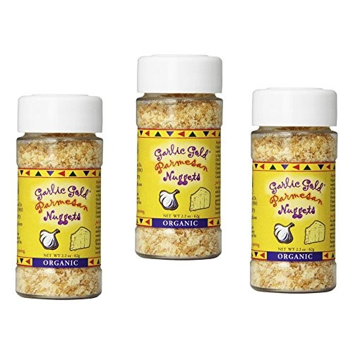 Garlic Gold Organic Nuggets, Roasted Garlic Seasoning bits with ...