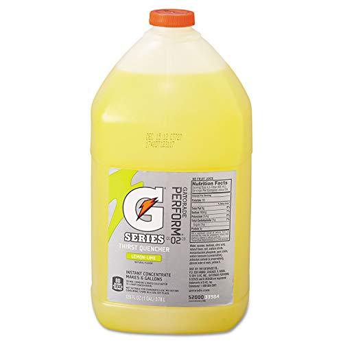 QOC03984 - Gatorade Liquid Concentrate, Lemon-lime, 1 Gallon Jug