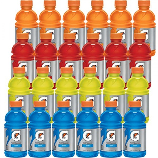 Gatorade Classic Thirst Quencher, Variety Pack, 12 Ounce Bottles...