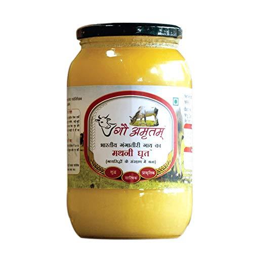 GAU AMRITAM Organic A2 Ghee Desi Gangatiri Cow Vedic, 500ml 16...